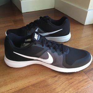0ad867183760 Nike Shoes - NEW - Nike Mens Flex Control 4E. Black White